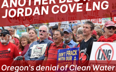 Federal Energy Regulatory Commission Upholds Oregon's Denial of Key Jordan Cove LNG Permit