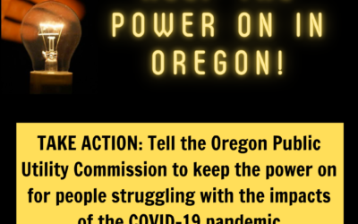 Oregon Power Shut Off Moratorium Extended to June 15